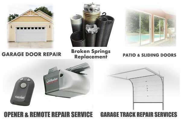 garage door patio replacement